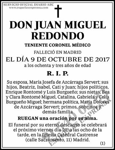 Juan Miguel Redondo